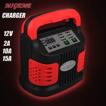 12 V cargador de batería de coche, 15a cargador de coche