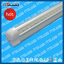 cUL UL 240deg led freezer lighting for freezer displays with D shaped end cap IP65 110lm/w