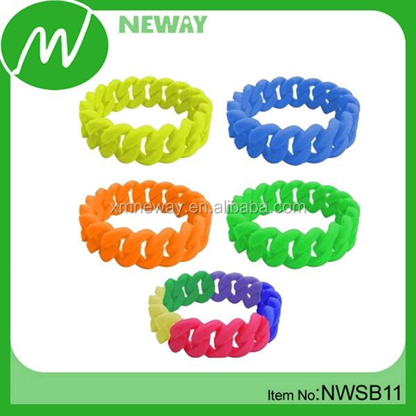 Supply latest style DIY crazy loom bracelet