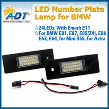 Factory Price LED License Plate Lamp for BMW 18LEDs