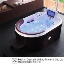 Luxury Sex Wood Two Person Freestanding Bathtub (CA-F7068)