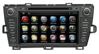 чистый android 4.2 автомобильные dvd gps для toyota prius процессор 1.6 ГГц, сенсорный экран, Радио rds, bt, ipod, Wi-Fi