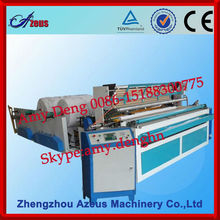 Machine for Producing Toilet Paper and Napkins