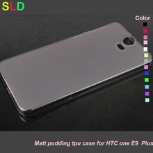 tpu back cover case for htc one e9 plus