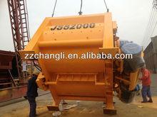 JS2000(2M3) teka concrete mixers,electrical cement mixers