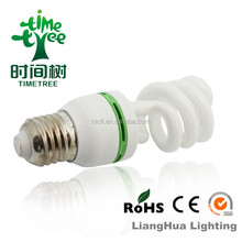 chinese factory 20W 22W 24W T4 PBT/PPT fsl spiral enengy save lamp