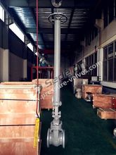 API6D Manual Operated Cast steel Gate Valve With Long Stem