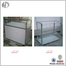 Heda open glass display showcase cabinet for shopping mall
