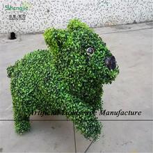 SJZA09 Artificial topiary artificial topiary animal bear animal topiary