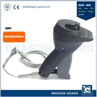 Dragon Guard AH001 Hand Held Detacher Clothing Security Tag Remover Gun