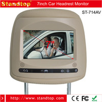 7 inch Car DVD Headrest Car Monitor With SD USB