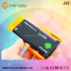android quad core 4.4 rk3188 android tv stick with remote
