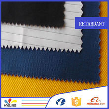 Aramid fabric EN certificate Reach make to order modacrylic fireproof fabric with high fastness