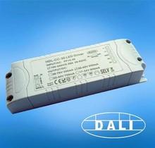 40w output One channel DALI dimmable led driver ,AC input, 700ma 900ma 1200ma 1500ma output