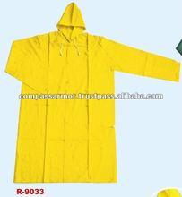 military rainsuit raincoat,police rainsuit- pvc polyester long raincoat