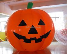 Inflatable giant pumpkin for Halloween