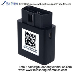 car tracking solution [2G, 3G, 4G] plug-and-play