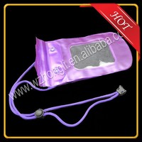 Mobile Phone PVC Waterproof Dry Bag Case with IPX8 Certificate for iPhone 4 4s 5 5s 5c ect