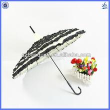 unique 16 ribs lace pagoda umbrella