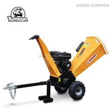 Italy style high quality 13HP Honda Lifan gasoline engine China automatic manual shredder wood chipper shredder