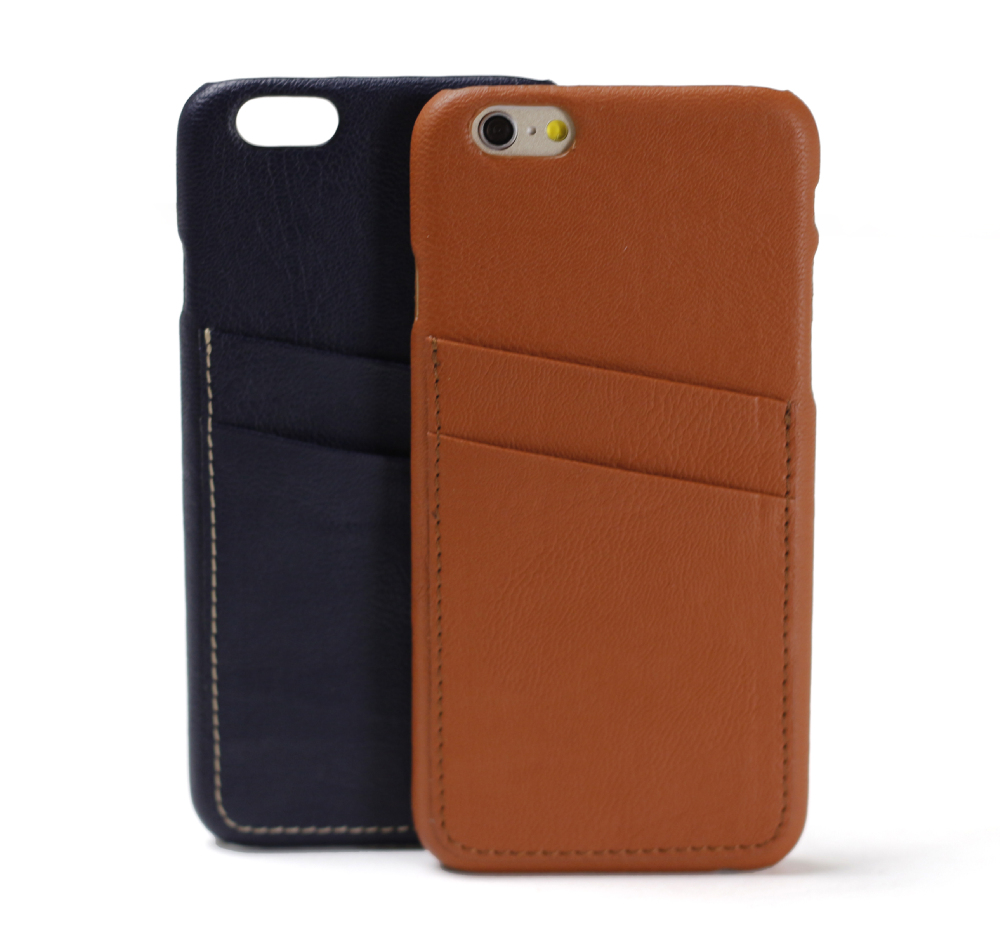 2014 thickness PC + PU leather case for iphone 6