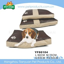 Orthopedic Fluffy High Quality Large Waterproof Dog Bed Fabric