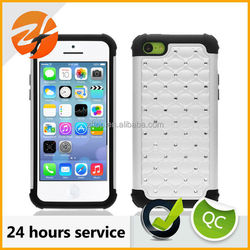plastic crystal shiny case for iphone 5c,diamond case for iphone 5c, for iphone 5c mobile phone case