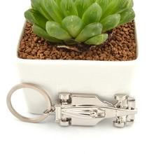 Fashion wholesale silver metal 3d custom car keychain