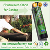 100% polypropylene UV Protection Garden Weed Control Fabric , Landscape Weed Control Fabric