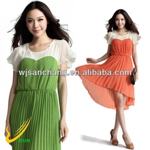 15d chiffon composite crepe finish