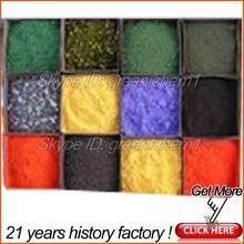 Best price 95% iron oxide hydroxide black pigment and yellow ceramic powder for paint/pavers/concrete/bricks/concrete acid stain
