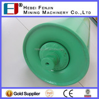 Industrial Carbon Steel Transition Idler For Conveyor Machinery Parts
