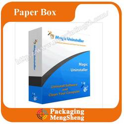 New Design Disk packaging box CD corrugated paper box