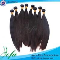 Unprocessed virgin remy straight grade 8a virgin brazilian hair