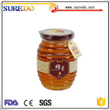 Honey Glass Jam Jars