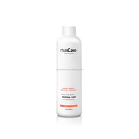 Keratin hair treatment cream with small quantity
