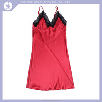 quick dry /breathable lady nightgown