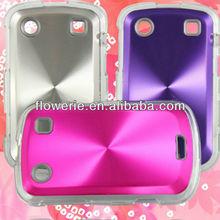FL2277 2013 Guangzhou hot selling gold aluminium cd pattern back cover phone case for blackberry 9900