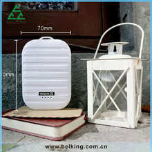 Mini Luggage Designs Power Portable Charger 78mAh Pack Backcup Power Bank Battery For Samsung/iPhone/Androd 3-4 times Charger