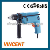 300~500W Electric Hand Drill Machine with 13mm Drilling Capacity