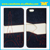 we are a responsibility work team professional OEM and drop shipping offer Jeans mobile phone case for Alcatel Idol 6040