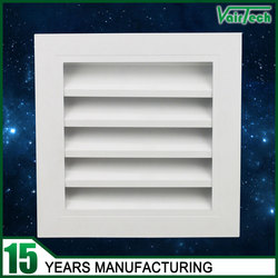 Ventilation wall fresh air louver aluminum window louver frames
