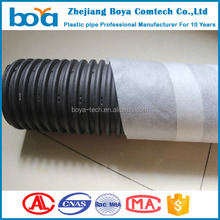 plastic Flexible Perforated Corrugated Drainage Pipe With Sock