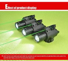 Tactical Hunting Combo Green Dot Laser Sight,Flashlight Light Rail for Rifle/Gun/Handgun