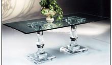 Novel Clean Acrylic Glass Tea Table