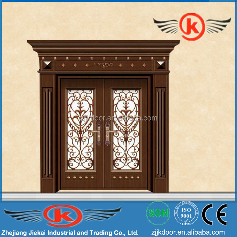 Jk s9095 kerala door designs iron security door design Front door grill designs india