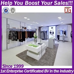 High quality retail shop showroom cloth display furniture