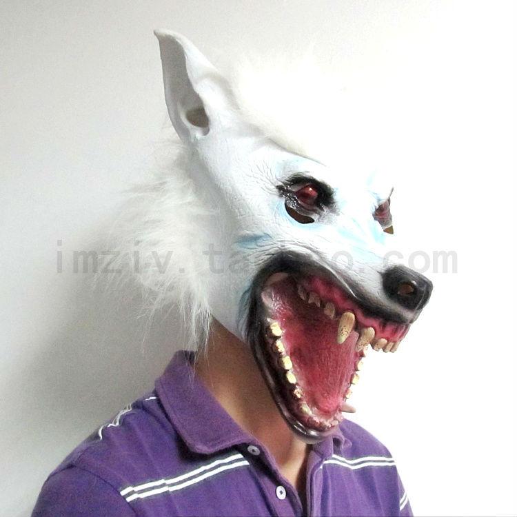 หน้ากากม้า, หน้ากากสัตว์, หน้ากากตลก, หมาป่าหน้ากาก