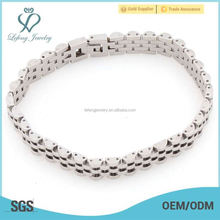 Best selling trendy 7--8 inch silver stainless steel bracelet , wholesale hign quality jewelry bracelet