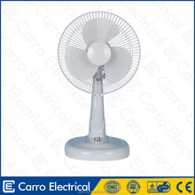 Prime quality 13watts cooling rechargeable table fan table fan rs